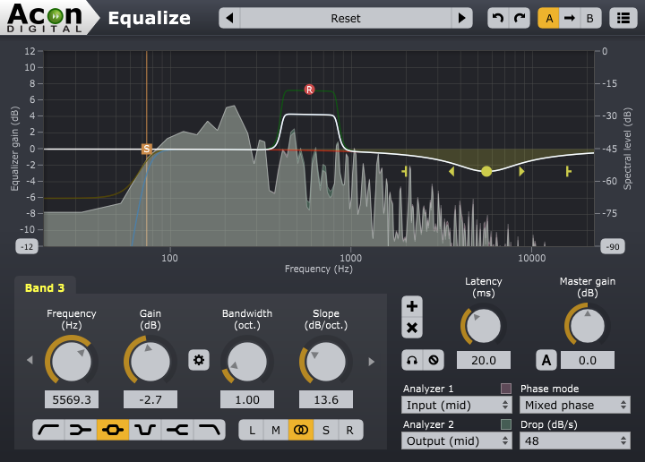 Acon Digital Equalize - New Equalizer with Unique Features - Acon