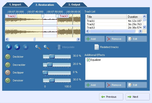 AudioLava Screen shot