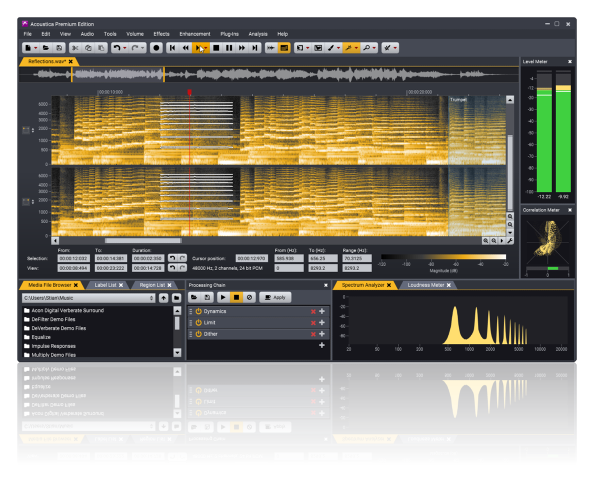 Acoustica | Digital Audio Editor