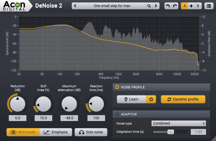 DeNoise from Restoration Suite 1.5
