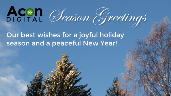 Our best wishes for a joyful holiday season and a peaceful New Year!