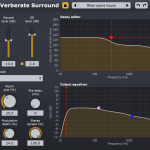 The Verberate Surround user interface